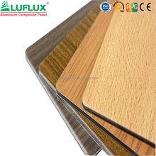 Wooden ACP panel