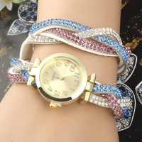 2014 latest hot design chinese automatic watch of ladies