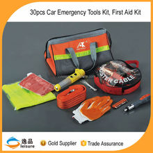 30pcs High quality portable bag of Auto Emergency Kit