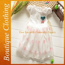 2015 fashion design children korean 1 year old baby clothes for party CLCC-027