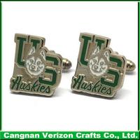 Manufactuer Custom Designs Silver Metal Cufflink Mens Cufflinks