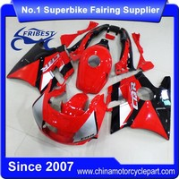 FFKHD001 Fairings For Motorcycle For CBR600FS 1991-1994 Red Black Silver Fairings For Scooter