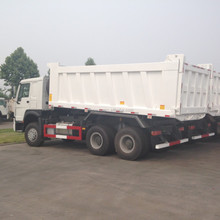 WHITE COLOR HOWO DUMP TRUCK FOR SALE