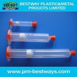 Industial epoxy glue syringe for glue dispenser syringe barrel