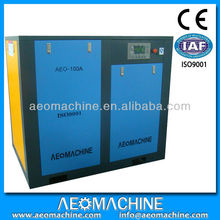 7 Bar 13.5m3 per min oil lubricants horizontal screw air compressor