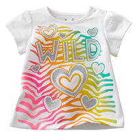 New products short sleeve t-shirt wholesales for children's cotton clothing