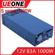 HIgh-efficiency 1000w 12v switching power supply s-1000-12