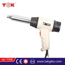 Tgk-700a de plástico de soldadura de la antorcha de temperatura ajustable