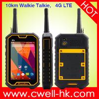 Original Runbo X6 IP67 Waterproof VHF/UHF Walkie Talkie 4G LTE 5.0 Inch Corning Glass Touch Screen 2GB RAM/16GB ROM smartphone
