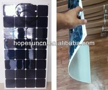 high efficiency 10W 18W 20W 30W 40W 50W 100w 150w 180w Semi Flexible Solar Panel, Buy Flexible Solar Panel sunpower solar module