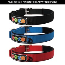 Comfortable and Soft Neoprene Padding Metal Buckle Dog Collar