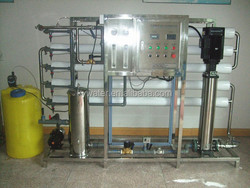 Operate convenience 2500L/H reliable ro plant/drinking water purification plant