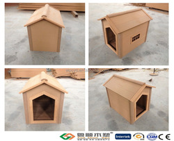 Good quliaty YUESHUN outdoor wall panel wpc dog house