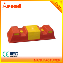 wheel skid plastic material parking used high quality