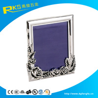 Cheap Small Picture Photo Frames/ Zinc Alloy Picture Frames/ Metal Photo Frame Factory