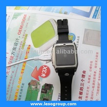 Black bluetooth watch/bluetooth watch/wristwatch with wifi 3g for mobile phone