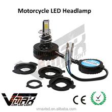 12V 20W 2200LM White led motorcycle headlight led projector headlights double headlight