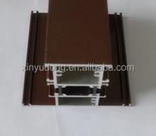 powder coating thermal break Aluminium extrusion Profiles for making windows and doors