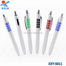 pen with plastic crystal diamond plastic ball pen/gift pen/promotion pen