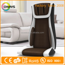 Wholesale low price high quality massage cushion for chair/neck 3d shiatsu air pump massage cushion
