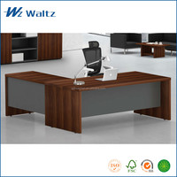 Hot sale L shape MDF material cheap office furniture price office furniture made in China
