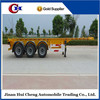 Container Skeleton 20ft Semitrailer