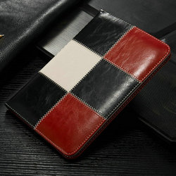 2015 China Tablet Smart cover for ipad air 2 cover with holder, custom best leather bag for ipad, black leather cover for ipad 2