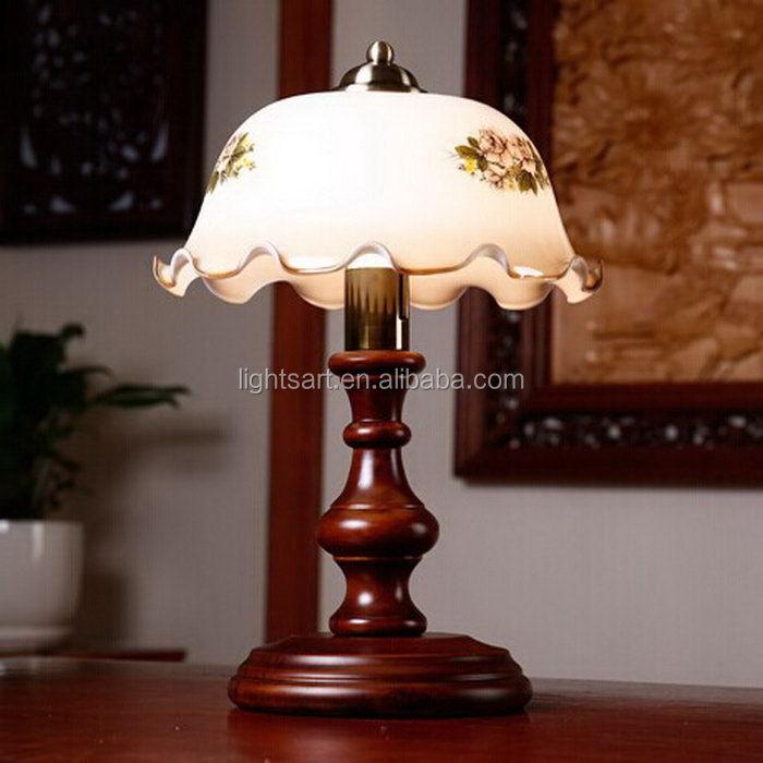 wide varieties swivel wooden base bedside table lamp buy. Black Bedroom Furniture Sets. Home Design Ideas