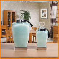 Simple modern resin crafts fashion home accessories Canister knick knacks TV cabinet ornaments
