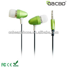 Earphone metal 2012 with top quality and fashion design