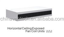 Cooling and heating Vertical floor exposed Fan Coil Unit