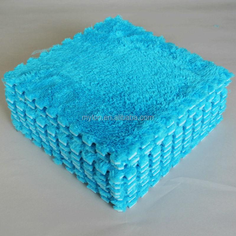 Eco Soft Foam Tile Interlocking Kids Play Puzzle Eva Floor Mats