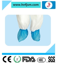 China manufactured disposable plastic shoe cover for operation