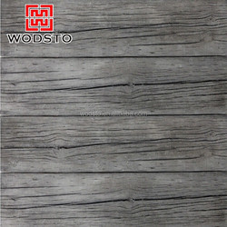 Synthetic wood grain non asbestos cement board for outdoor decoration