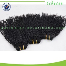 7A top quality brazilian outre hair kinky curl sew in hair weave virgin human remy yvonne hair
