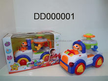 Top quality latest plastic toy race car