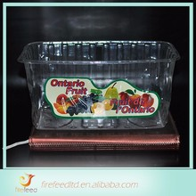 2015 New Design High Quality high quality customized mooncake plastic tray with cover