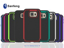 Multicoloured football grain cell phone cover for galaxy samsung s6;for SM-G9200 SM-G920F luxury mobilephone case
