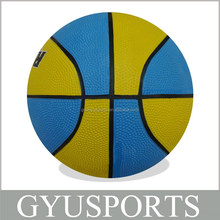 GY-D014 good quality cheap price rubber basketball for kids