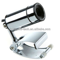 Stainless steel usb2.0 web cam toy web camera pc line web camera