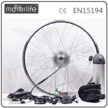 Motorlife/OEM 48V500W Electrico Bicycle Motor Engine Kit/Bafang Gear Front Wheels Kit