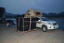 Convenient and practical exotic car roof tent