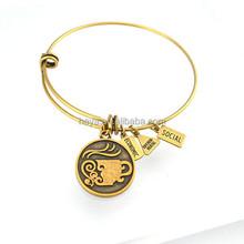Latest design gold alex bangle wholesale