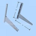 triángulo de soporte de aire acondicionado