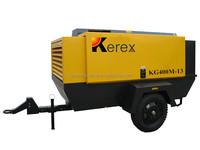 KG400M-13 400cfm 13bar portable diesel air compressor price