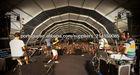 tenda temporária ao ar livre Festas da Praia 2013