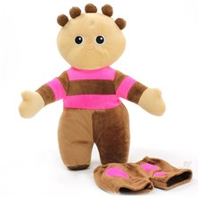 In the night garden Tombliboo plush toy 12 Inch(brown)