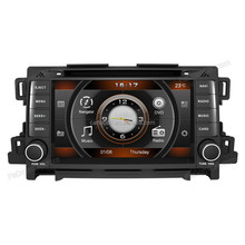 Car Radio Auto Audio Stereo Multimedia DVD Player GPS Navigation for Mazda CX-5