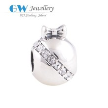 2015 New fine jewelry sterling silver 925 Crystal Beads In Bulk