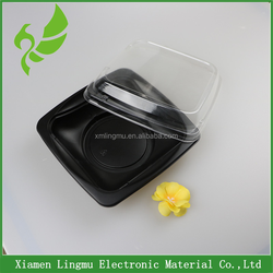 Disposable Plastic Sushi Tray/Plastic Food Sushi Container From Xiamen